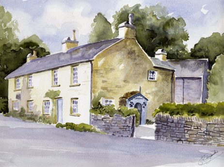 Watercolour Paintings By Ian Sidgwick
